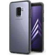 Bumper Ringke Samsung Galaxy A8 Plus 2018 A730 SMOKE BLACK+ BONUS folie protectie display Ringke