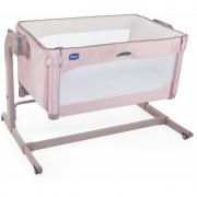 Chicco krevetić Next2Me Magic Candy Pink