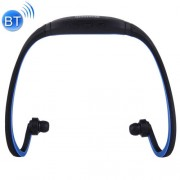 BS19 Life Waterproof Sweatproof Stereo Wireless Sports Bluetooth Earbud Earphone In-ear Headphone Headset with Hands Free Call Function for Smart Phones & iPad & Laptop & Notebook & MP3 or Other Bluetooth Audio Devices (Dark Blue)