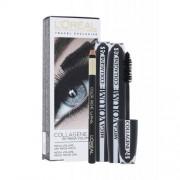 L´Oréal Paris Mega Volume Collagene 24h darčeková kazeta pre ženy riasenka Mega Volume Collagene 24h 2 x 9 ml + ceruzka na oči Eye Contour Khol Black 2 g