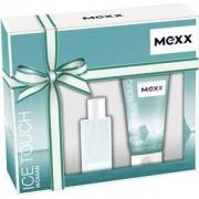 Mexx Perfumes femeninos Ice Touch Woman Gift Set Eau de Toilette Spray 15 ml + Shower Gel 50 ml 1 Stk.