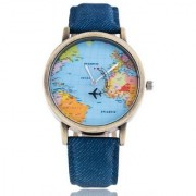 Mantra Mini World Map Watch For Men And Boy