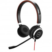 Jabra Evolve 40 UC Stereo Bedrade Office Headset