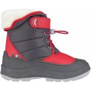 Winter Grip snowboots Hoppin' Bieber junior grijs/rood mt 27