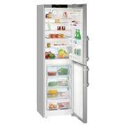 Combina frigorifica Liebherr CNef 3915, 340 L, No Frost, Display, Control electronic, Raft sticle, SuperCool , Alarma usa, H 201.1 cm, A++, Uşi inox