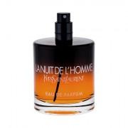 Yves Saint Laurent La Nuit De L´Homme parfémovaná voda 100 ml Tester pro muže
