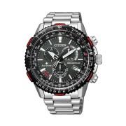 Citizen Promaster Chronograph Watch Model CB5001-57E (Silver)