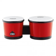 NINO ABS Bongos 6 1/2-Inch & 7 1/2-Inch Red