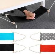 Meco Portable Travel Footrest Flight Office Carry-on Feet Rest Foot Hammock