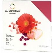 "Cardstock variety pack 12x12"" x60 valentine"