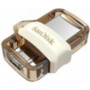 SanDisk SDDD3-064G-I35GW 64 GB OTG Drive(Gold, Type A to Micro USB)