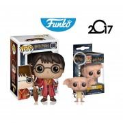 2 Pack Harry Potter Dobby Funko Pop Llavero Y Pop Pelicula ENVIO GRATIS