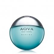 Aqua pour homme marine bulgari edt spray uomo 50 ml