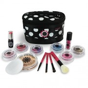 Mini Play Pretend Makeup: Deluxe Pretend Cosmetics Kit - Classic Black