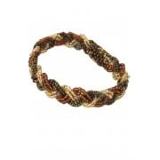 Bohemian Fair Trade Armband Gevlochten Bruin