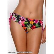 Färgglad bikinitrosa med vackra blommor