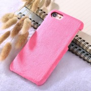 Para IPhone 8 Y 7 De Felpa Volver Funda Protectora (magenta)