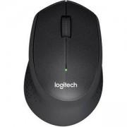 Мишка Logitech Wireless Mouse M330 Silent Plus, Черна, 910-004909