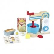 Set de joaca din lemn Mixer pentru prajituri