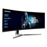 Samsung LC49HG90DMUXEN 124,20 cm (49 inch) led Multitasking Monitor (2 x HDMI, Display Port, Mini-Display Port, USB, 3840 x 1080 pixels), matzwart