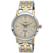 Timex Quartz Silver Round Men Watch TW000T120