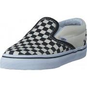 Vans T Classic Slip-On Black And White Checker/White, Skor, Lågskor, Slip on, Blå, Barn, 19