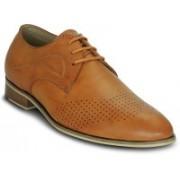 Kielz Kielz-Men's-Derbys-Formal Shoes Derby For Men(Tan)