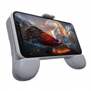 RK spel 7de Power Bank ABS staan Gamepad Game Controller voor 2.4-3 5 inch Android & iOS Phone(Grey)