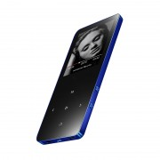 X2 1.8-inch Touch Screen Bluetooth Speaker MP3 Player Support TF Card FM 8GB - Blue