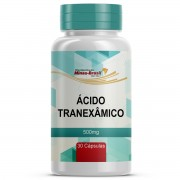 Ácido Tranexâmico 500 mg - 30 Cápsulas