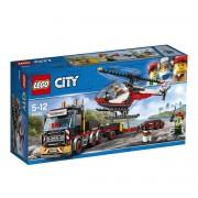 LEGO CITY Le transporteur d'hélicoptère 60183