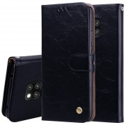 Negocios Estilo Aceite De Textura De Cera Cuero Para Huawei Mate 20 Pro