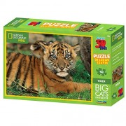 National Geographic Kids 48 Piece 3D Puzzle Jigsaw Big Cats Tiger 10523
