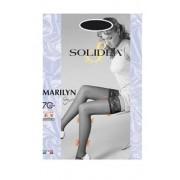 Solidea By Calzificio Pinelli Marilyn 70 Sheer Calza Autoreggente Cammello1