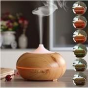 Aroma diffúzor 'Kisgömböc' párologtató világos fa színű 300 ml-es