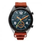 Huawei Watch GT Active gris avec bracelet en silicone orange