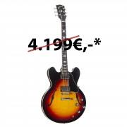 Gibson ES-335 Figured 2018 Antique Sunburst #10538701
