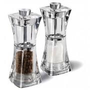 Комплект мелнички за сол и пипер COLE & MASON CRYSTAL - 12.5 см