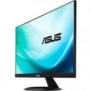 "Monitor LED IPS ASUS 23.8"", Wide, QHD, HDMI, Boxe, VX24AH, Negru"