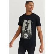 Rock Off T-Shirt The Beatles Tee Svart