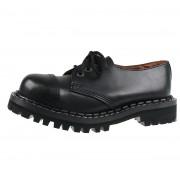 Stiefel Boots STEADY´S - 3-eye - STE/3_black