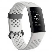 Fitbit Fitness Náramek Fitbit Charge 3 Graphite/white Silicone