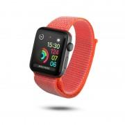 Unotec Correia Velcro para Apple Watch 42/44mm Laranja