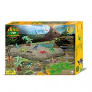 Geoworld Dino Age Experience Dinosaurs Kit, Set of 9