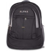 ALPHA TRENDS Elegance Multi-Purpose Professional Day Pack with Laptop Compartment Lite Weight 25 L Laptop Backpack(Black)