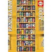 Puzzle 2000 Lata Sobre Lata Panoramico - Educa Borras