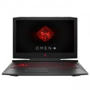 Лаптоп HP Omen 15-ce014nu Black, Core i5-7300HQ Quad(2.5Ghz, up to 3.5Ghz/6MB), 15.6 инча, FHD UWVA AG IPS + WebCam, 8GB 2400Mhz 1DIMM, 2MD15EA