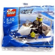 Lego City Police Boat Construction #30002 Bagged