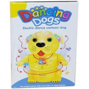 Multi-Color Cute Dancing Dog Toy with 3D Lights Wonderful Music for Kids