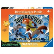 Puzzle Zootopia, Judy&Nick, 60 Piese Ravensburger
